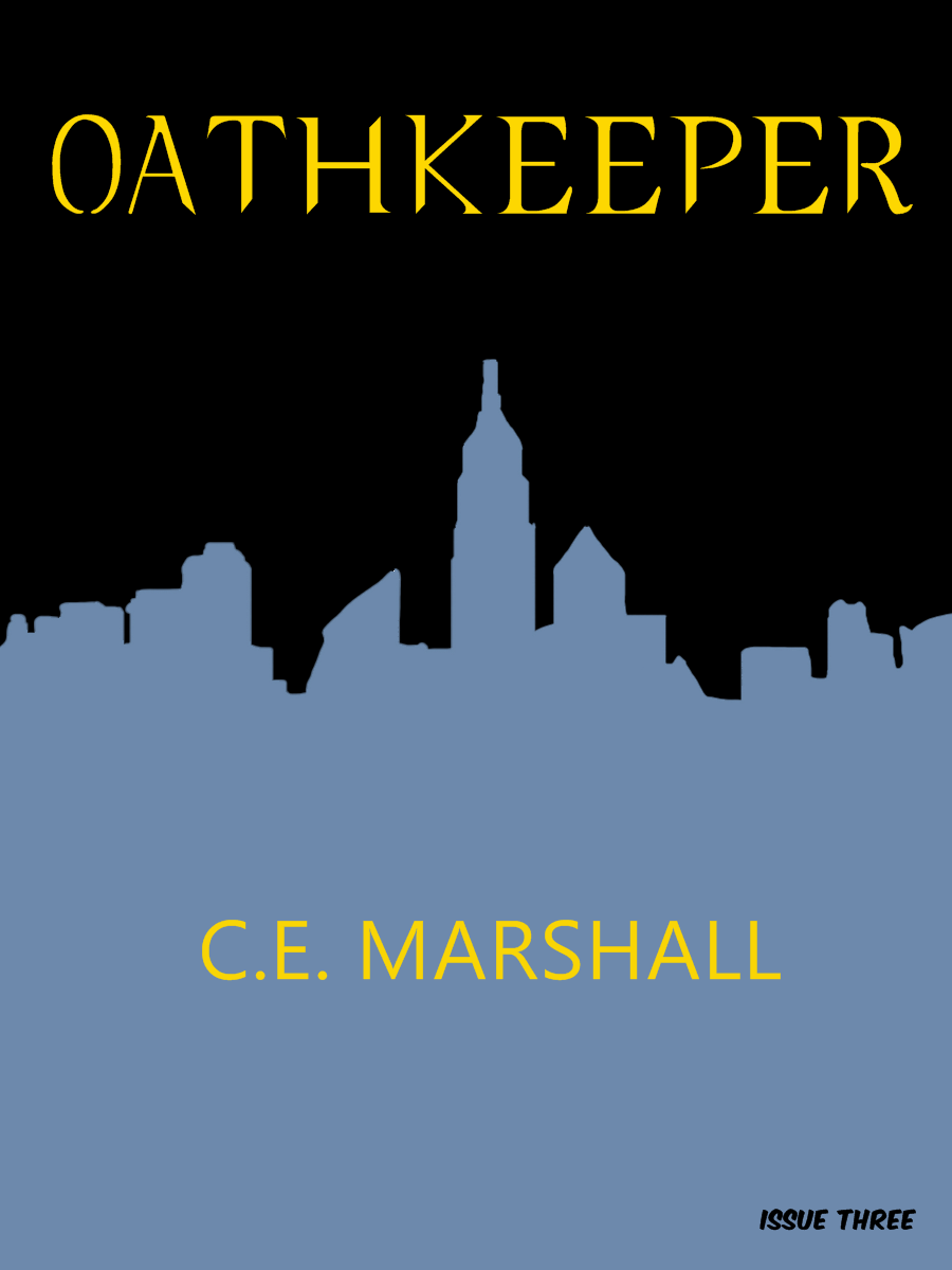 Oathkeeper Issue Three – COVER